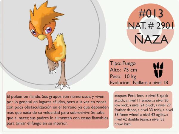 Pokemon Oryu 013 Niaza by shinyscyther