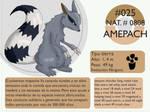Pokemon Oryu 025 Amepach