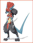 Pokemon fifth gen lucario evo