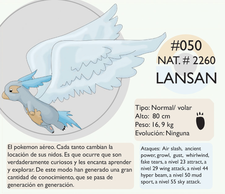 Pokemon Oryu 050 Lansan by shinyscyther