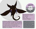 Pokemon Oryu 077 Rere