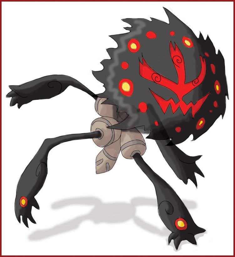 Kaiju Region Dex. Pokemon_fifth_gen__Phantomb_by_shinyscyther