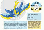 Pokemon Oryu 094 Kirayte