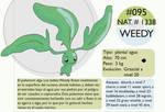 Pokemon Oryu 095 Weedy
