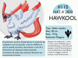 Pokemon Oryu 110 Hawkool by shinyscyther