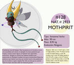 Pokemon Oryu 128 Mothpirit