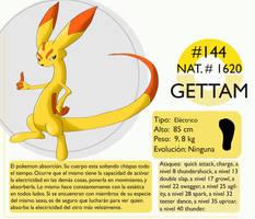 Pokemon Oryu 144 Gettam by shinyscyther