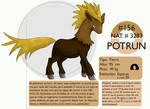 Pokemon Oryu 156 Potrun