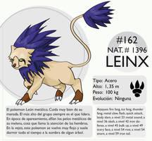 Pokemon Oryu 162 Leinx by shinyscyther