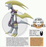 Pokemon Oryu 207 Koythes