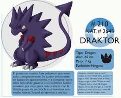 Pokemon Oryu 210 Draktor by shinyscyther