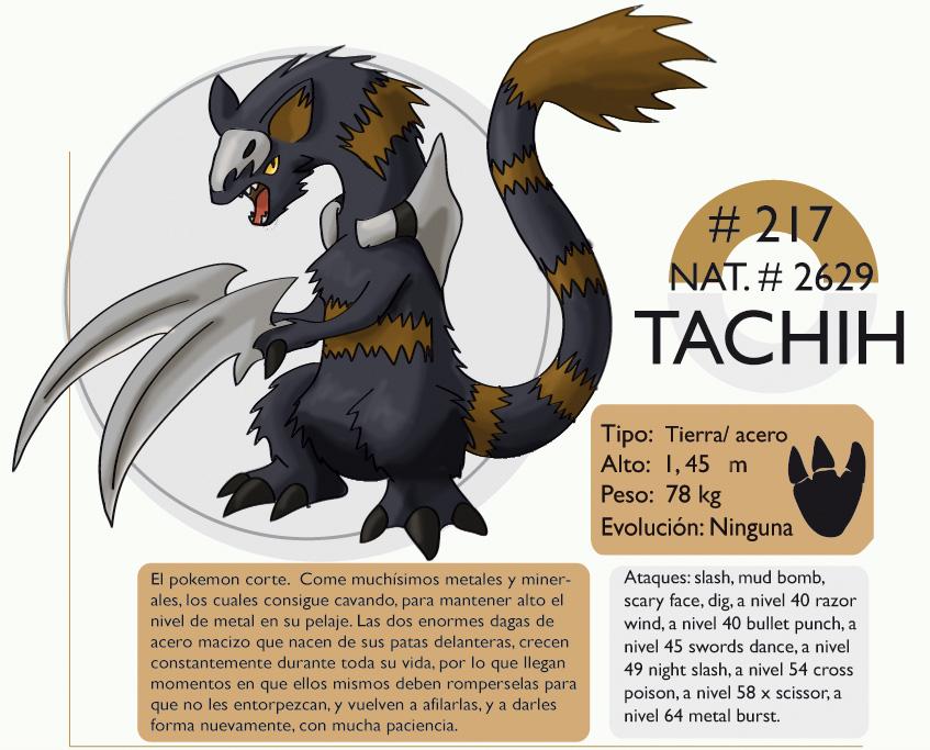 Pokemon Oryu 217 Tachih by shinyscyther