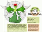 Pokemon Oryu 220 Beauktus
