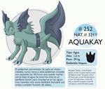 Pokemon Oryu 252 Aquakay