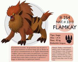 Pokemon Oryu 254 Flamkay by shinyscyther
