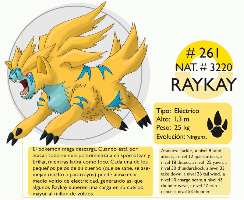 Pokemon Oryu 261 Raykay by shinyscyther