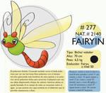 Pokemon Oryu 277 Fairyin