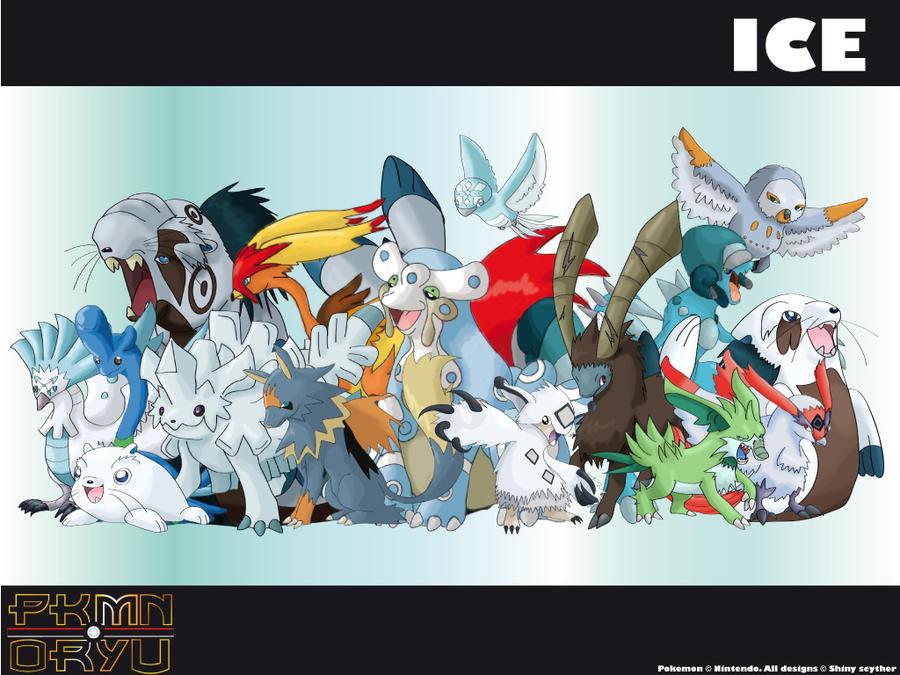 Ice Type Pokemon Wallpaper Oryu wall ice type by