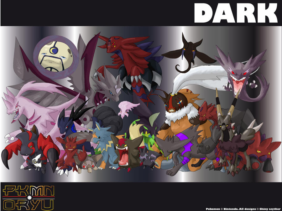 Ice Type Pokemon Wallpaper Oryu wall Dark type by