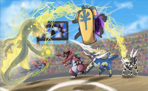 Triple battle 2 by shinyscyther