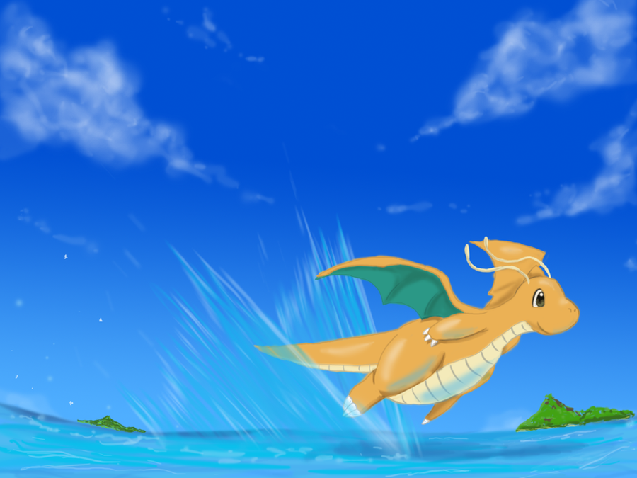 Dragonite by shinyscyther on DeviantArt