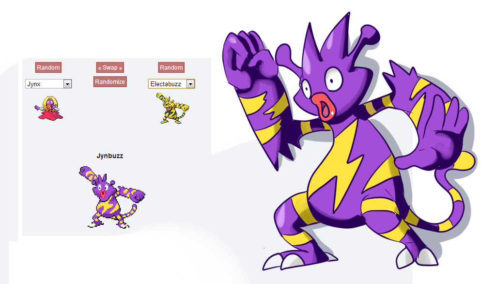 how to make pokemon fusions with photoshop