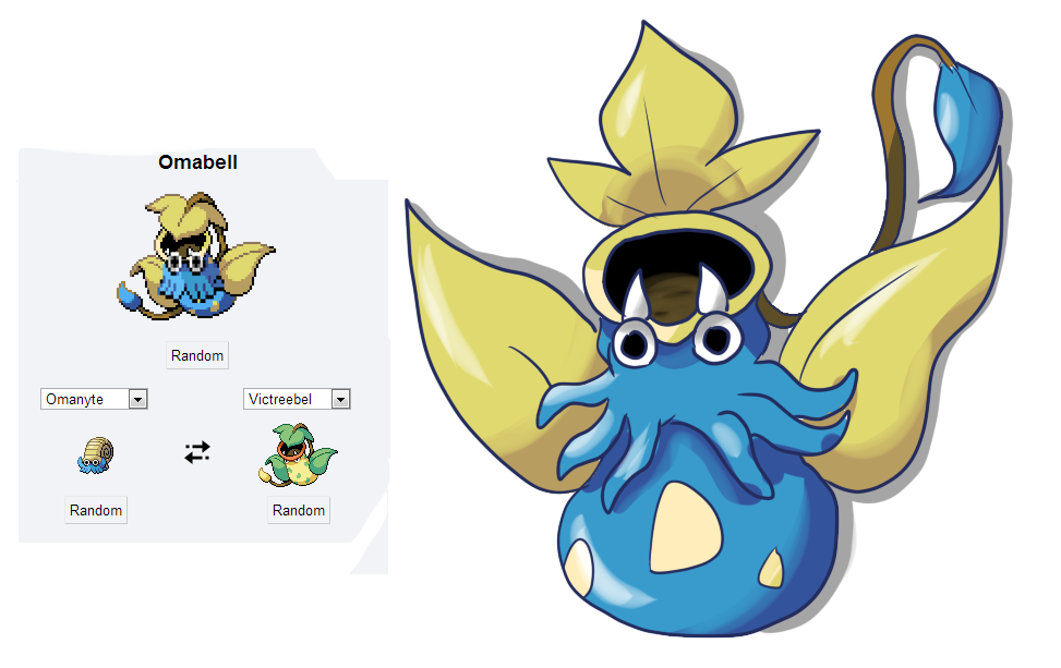 Pokemon Fusion 8 Omabell By Shinyscyther On Deviantart