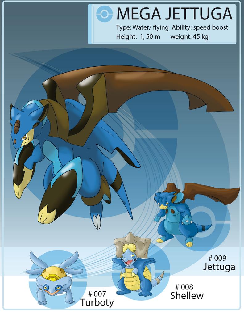 Oryu megas: MEGA JETTUGA by shinyscyther