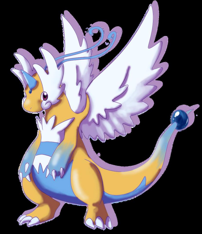 mega dragonite by shinyscyther