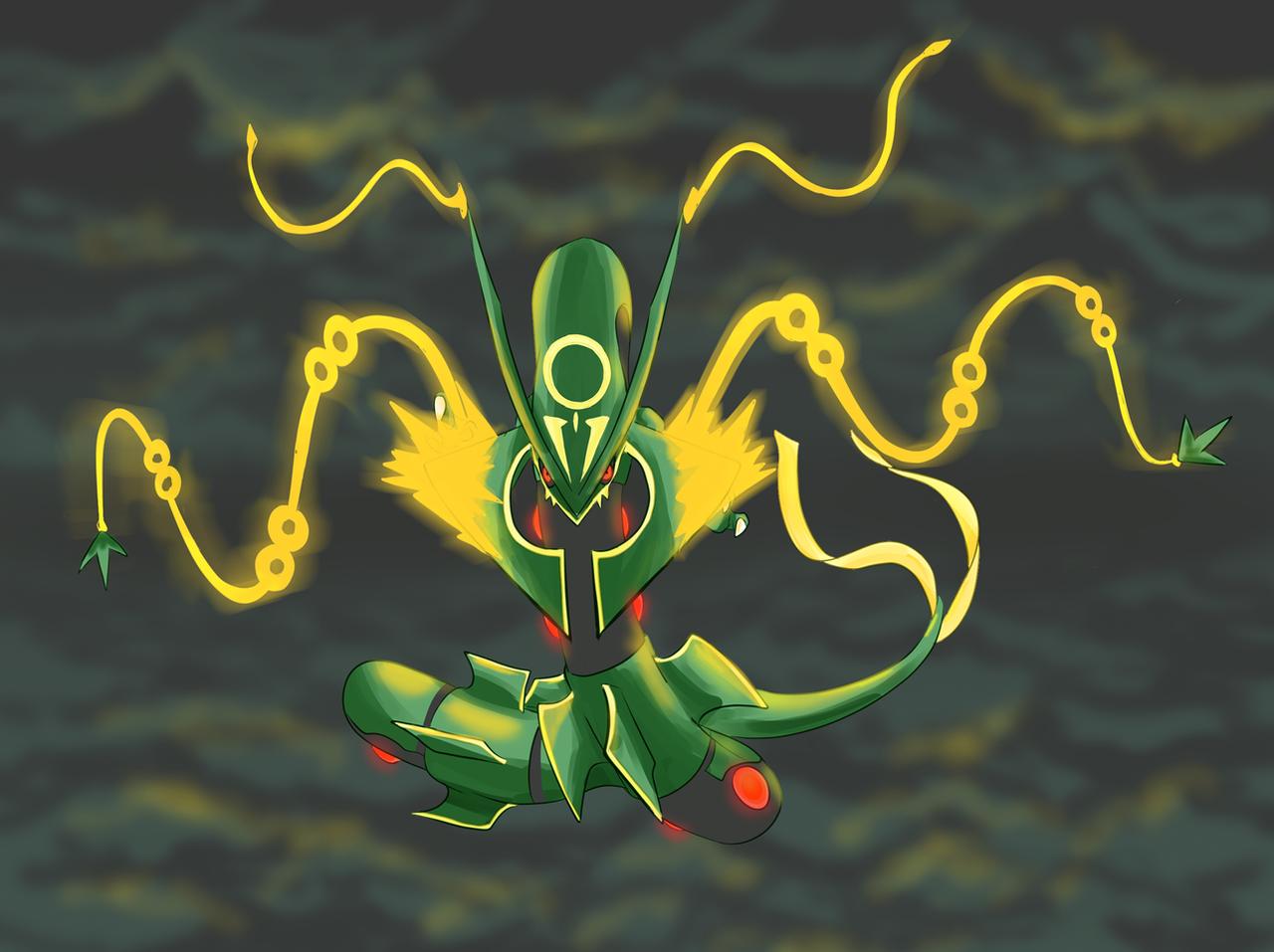 Mega Rayquaza by shinyscyther on DeviantArt
