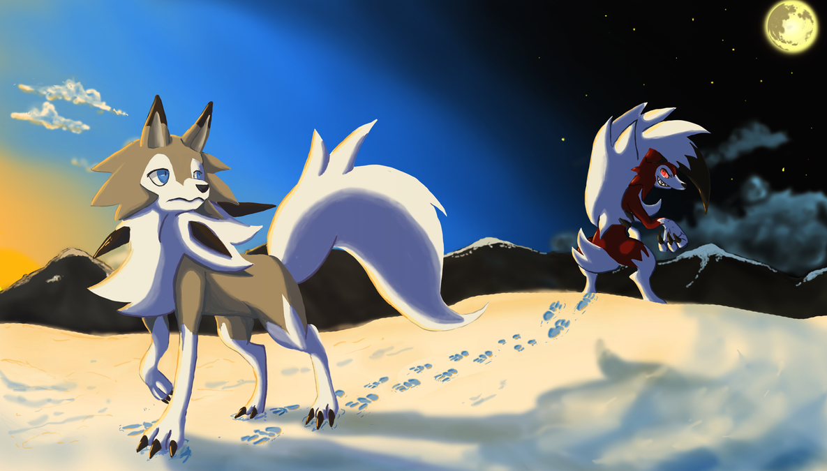 Image Result For Lycanroc Day And