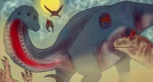 Dinovember Day 6 by Wyatt-Andrews-Art