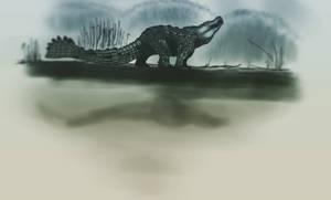 Dinovember Day 7 by Wyatt-Andrews-Art