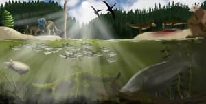 The River Styx by Wyatt-Andrews-Art