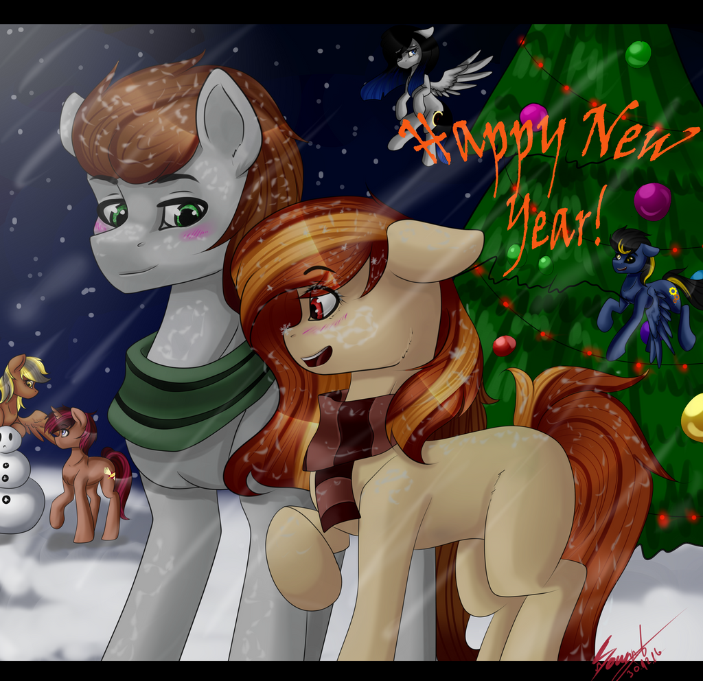 Happy New Year#1[OC] by The---Sound