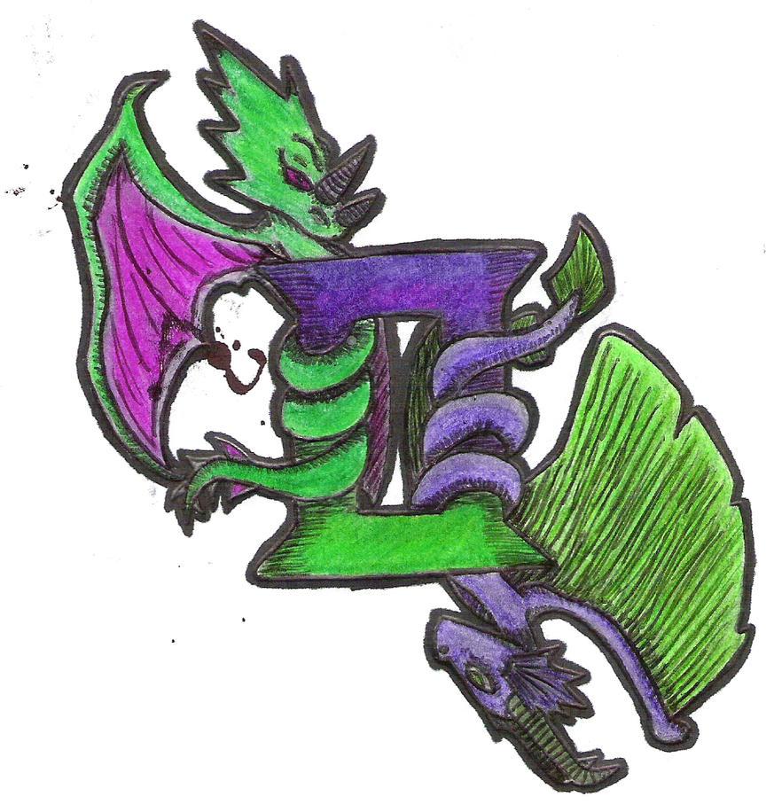 Gemini Dragon Tattoo Designs Tat Design