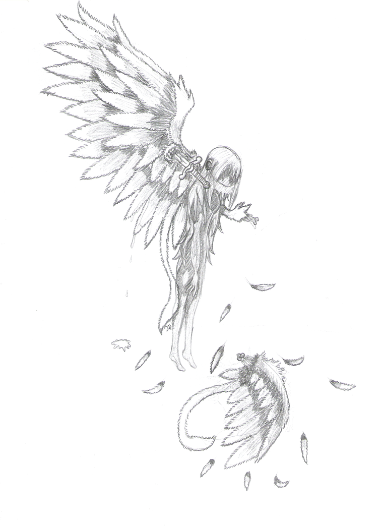 Angel Tattoo Design By D3sc3nd3d on3 On DeviantArt