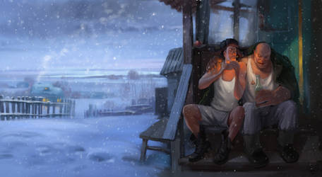 winter by Chyringa