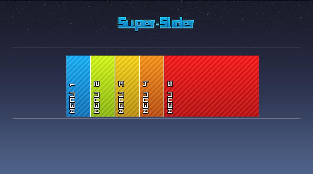 Super slider menu for sale by super studio on deviantart for Super studio