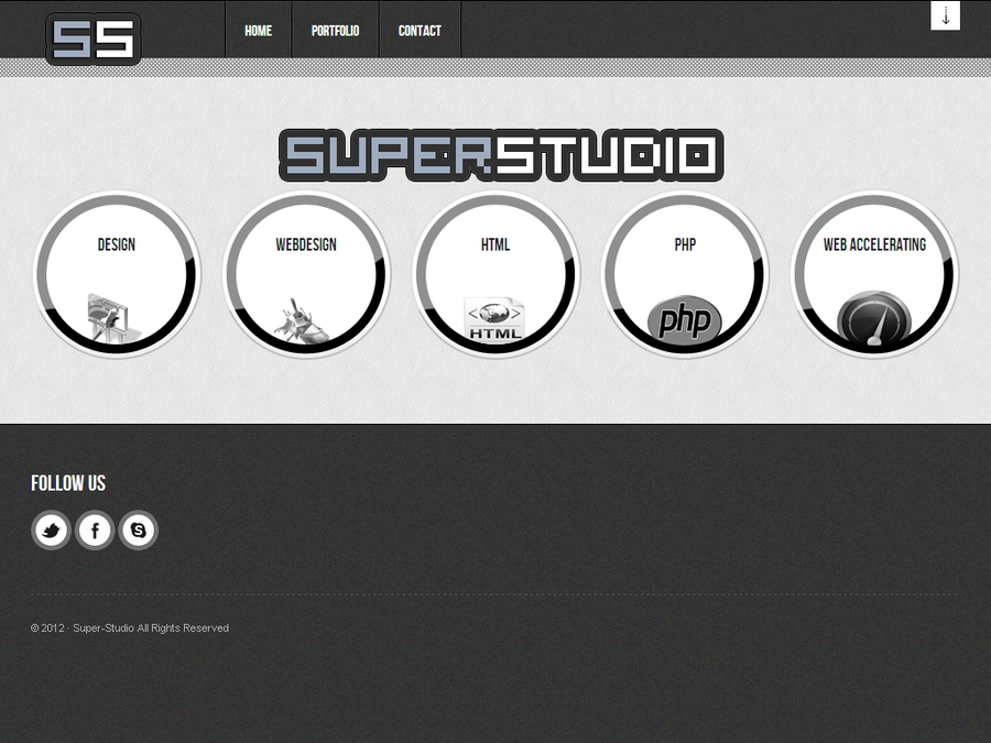 Super-Studio Website by Super-Studio