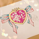 Sailor Moon Heart Tattoo by ThePrettyPadawan