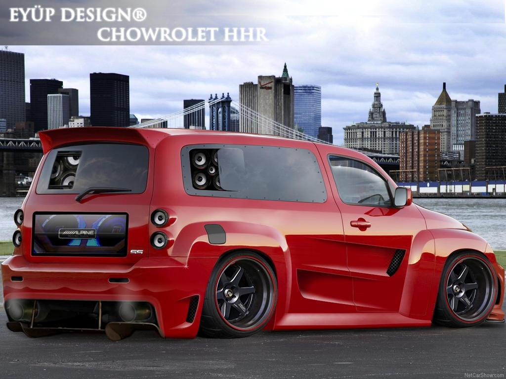 All Chevy 2010 chevy hhr problems : Custom Chevy HHR | Fantasy Wheels | Pinterest | Chevy hhr, Cars ...