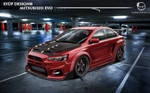 Mitsubishi_Evo Red