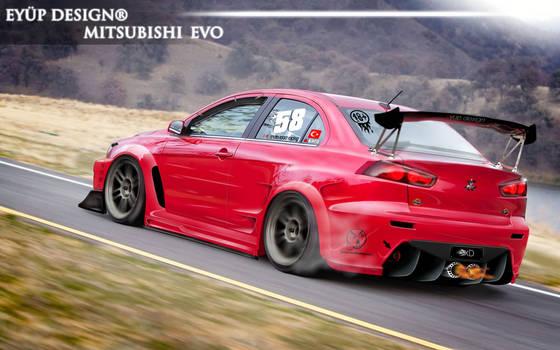 Mitsubishi Evolution-Hot Line