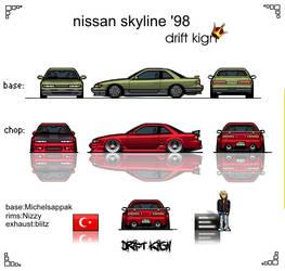 nissan skyline '98