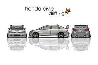 Honda Scaled