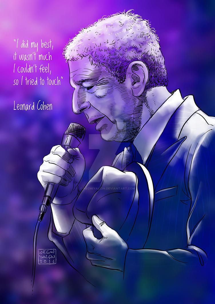 Leonard Cohen2words by necmiyalcin