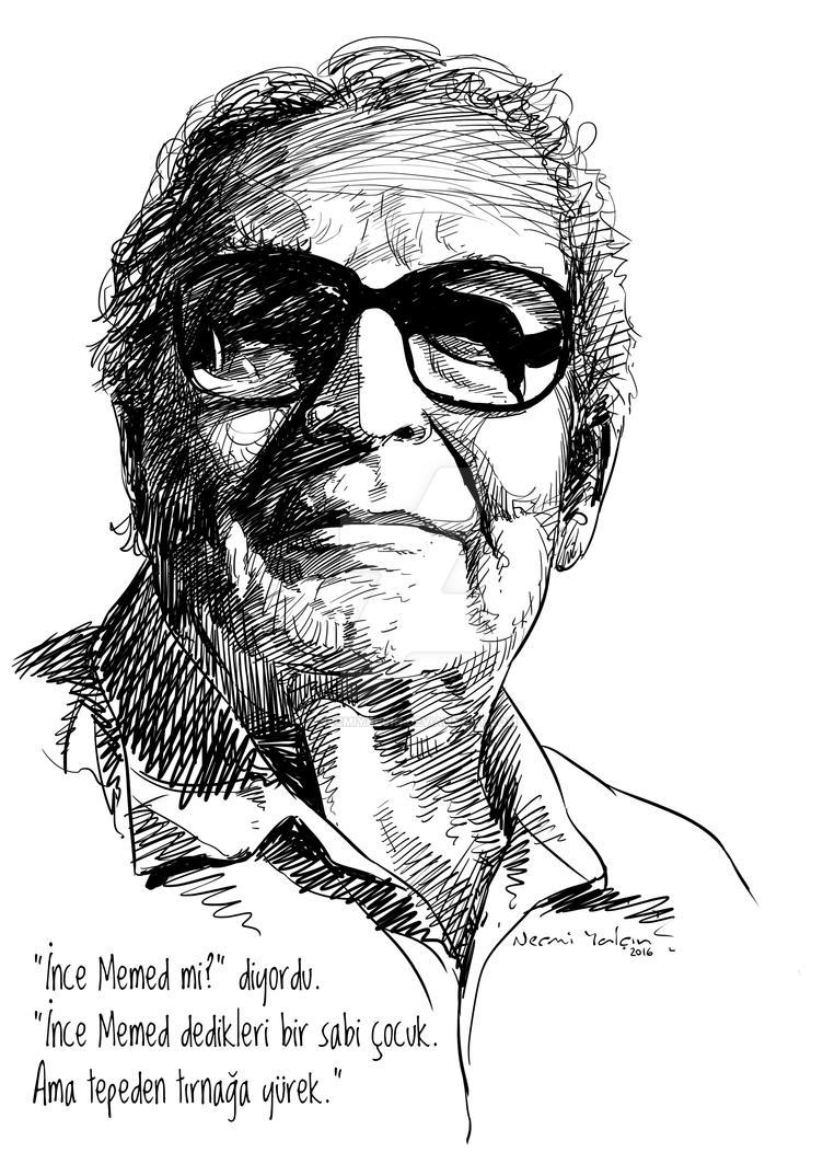 Yasar Kemal by necmiyalcin