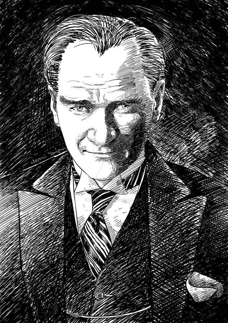 Ataturk by necmiyalcin