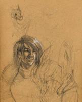 Game of Thrones Sketches 2 by lilwassu